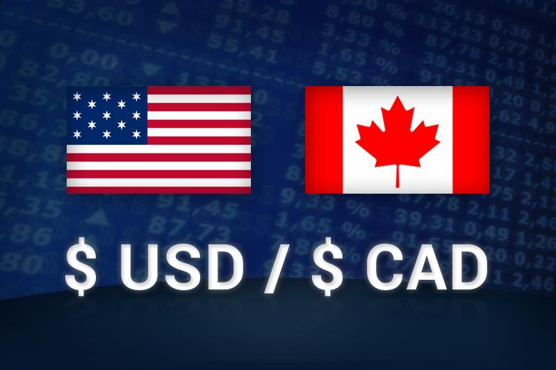 Coppia USD-CAD in calo